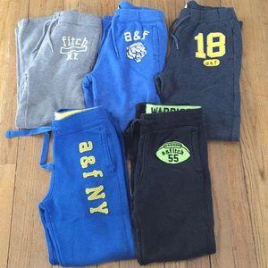 Bundle Abercrombie Kids Sweatpants Size Medium